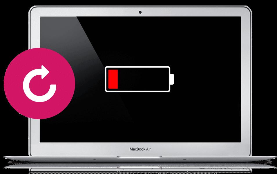 Заказать замену батареи Macbook в Санкт-Петербурге