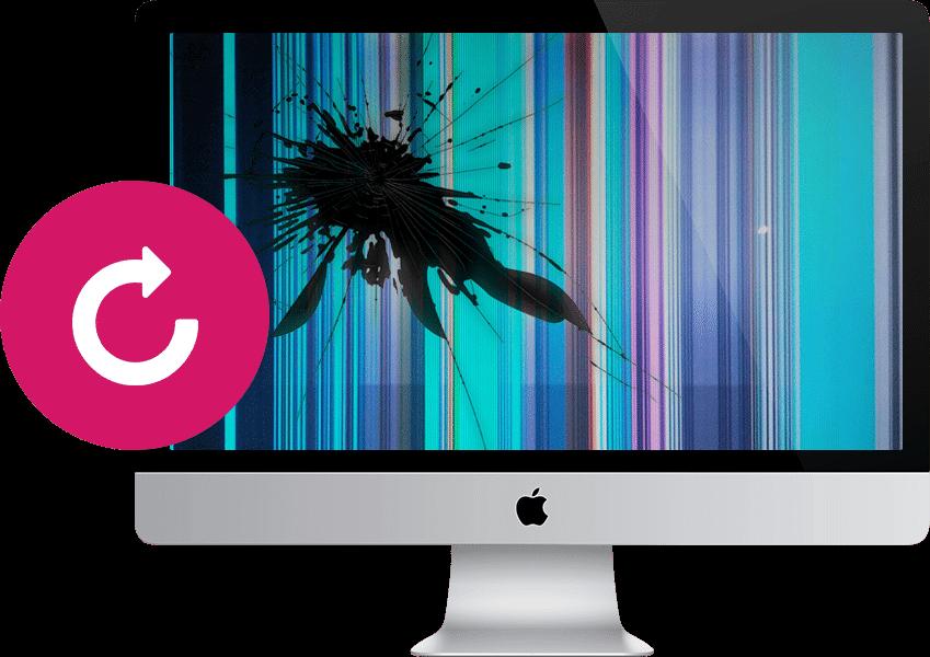 Заказать замену экрана iMac в Санкт-Петербурге