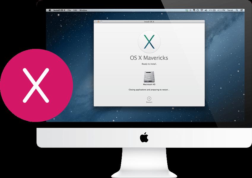 Заказать установку Mac OS на iMac в Санкт-Петербурге