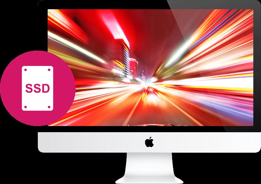 Заказать установку SSD iMac в Санкт-Петербурге