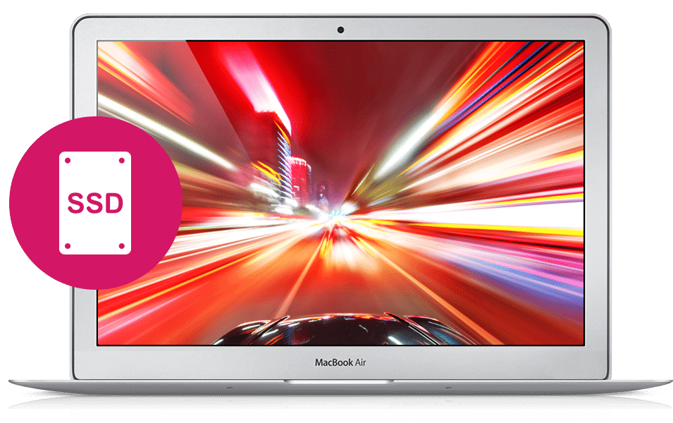 Заказать установку SSD на Macbook в Санкт-Петербурге