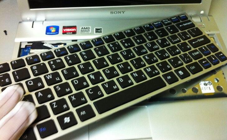 Заказать ремонт клавиатуры ноутбука в Санкт-Петербурге